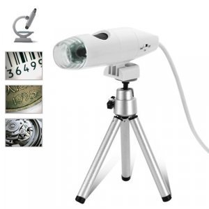 Digital Microscope with LED Light + Image Capture Software