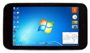 "10.2"" Windows 7 Tablet PC 1.66GHZ CPU Wifi Bluetooth 3G capacitive screen Mini Laptop"
