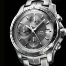 Brand watches!Mens Luxury Watch men Silver Steel watch