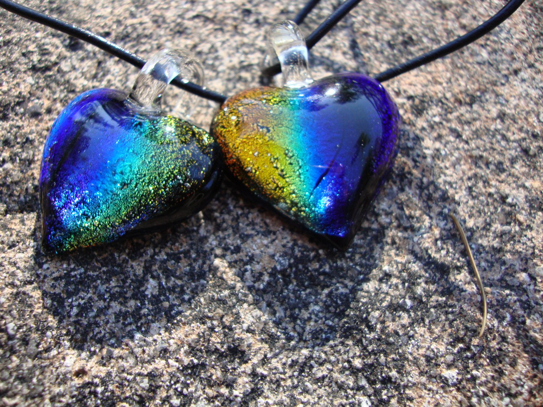Rainbow Dichroic Glass