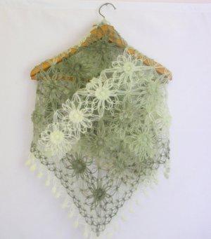 new season Soft Green Mohair Shawl Triangle Fashion Capelet bolero stole poncho