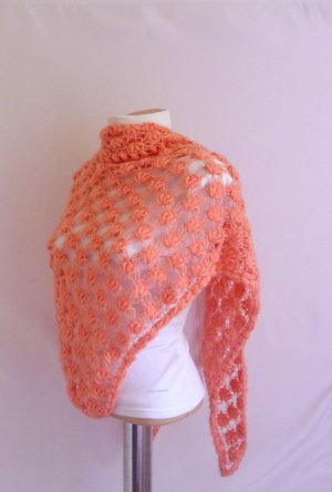 Shawl color oris eius quis Salmonum coloris shawl Dreams Shawls READY FOR SHIP salmon somon