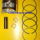 PISTON & RINGS SET FITS HONDA GX160 GXV160 GX200 ENGINE