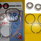 HONDA GX160 5.5HP GASKET SET, BEARINGS, SEALS, PISTON RINGS