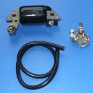 Rupteur Condensateur Bobine d'allumage ISEKI KC450 KC450F Motoculteur