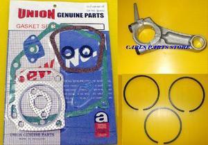 HONDA GX160 PISTON RINGS, CONROD & GASKET SET