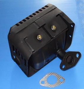 HONDA TILLER F401 F310 F410 F400 F510 EXHAUST MUFFLER & GASKET