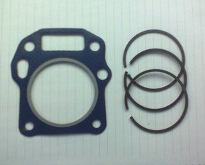 HONDA GXV140 HEAD GASKET & PISTON  RINGS