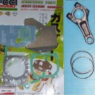 HONDA GXV160 GASKET SET, CONROD & PISTON RINGS