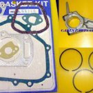 HONDA GX110 PISTON RINGS, CONROD & GASKET SET