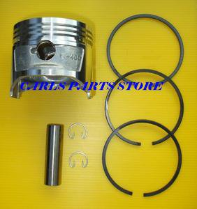 "HONDA G400 GV400 OVERSIZE PISTON & RINGS SET  +0.020"" +0.5mm"