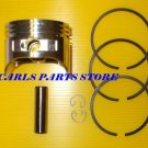 PISTON & RINGS SET FITS HONDA GXV120 MOTOR
