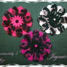Handmade Flowers For Scrapbooking or Hair Accessories