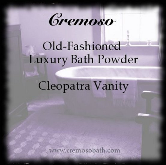 Old-Fashioned Luxury Bath Powder
