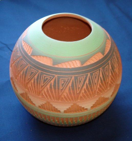 Aito käsintehty Navajo ruukku