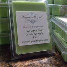 Cool Citrus Basil- Candle Bar Melts (ON SALE)