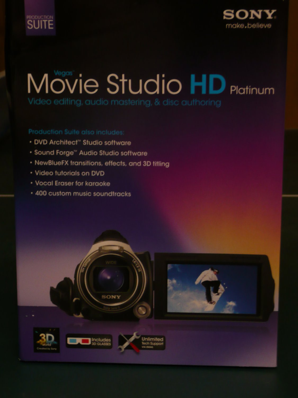 Sony Vegas Movie Studio HD Platinum Production Suite Version 11