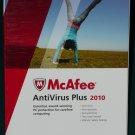 McAfee® AntiVirus Plus 2010 w/SiteAdvisor™ + free 2012 upgrade