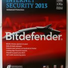 BitDefender Internet Security 2013 Value Edition, 3 Users for 2 Years