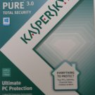 Kaspersky ® Pure Total Internet Security Version 3.0, 3 Users