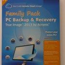 Acronis True Image Home 2013 Family Pack (3 users) - PC Backup and Recovery