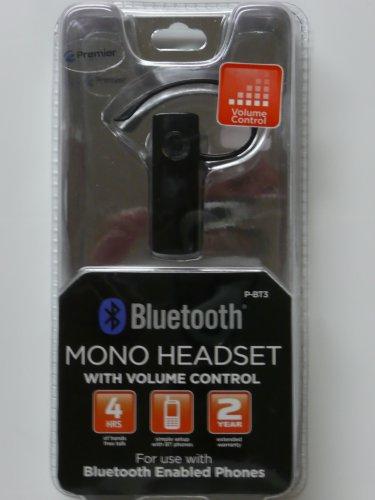 Premier Bluetooth Wireless Headset Mono P-BT3