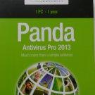 Panda AntiVirus Pro 2013 + free 2014 upgrade