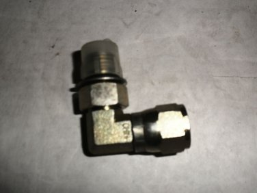 "Hydraulic L Fitting 90 Degree 1/4"" Male / Female"