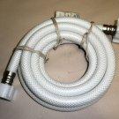 """LWWS 1/2 FIP S. S X 1/2 FIP S.S  72"""" Faucet PVC Connector W/ Plastic Nuts #95090"""