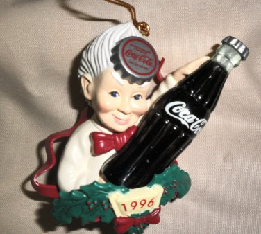 Cavanagh Group Coca Cola Grandma 1996 Ornament # CS96501