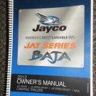 Jayco Jay Series / Sport / Select / BAJA 2012 Owner's Manual #0181064