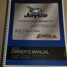 Jayco Jay Feather U.L Or Select / Eagle 2012 Owner's Manual #0195624