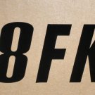 RV Information Decal - Black 38 FKS #0177875