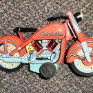 Xonex Harley Davidson Motorcycle 1950's Tin Toy Reproduction #29007