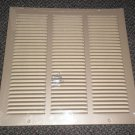 "Tru Aire Brown 18"" X 18"" Return Air Grille With 4 Screws #170BR18X18"