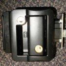 Travel Trailer Black Powder Coat Lockset With 2 Keys #313612