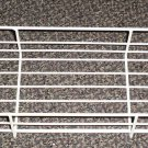 """Off White Coated Wire Basket Size: 21 3/8"""" X 5 3/4"""" X 3"""""""