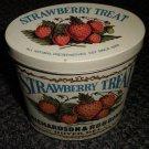 Bristol Ware Strawberry Treat  Metal Tin