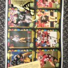 Gold Line Collectibles 4 Uncut Sheets Of Football Cards #1