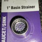 """Bath Unlimited 1"""" Bathroom Basin Strainer #A112"""