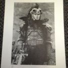 Davis-Panzer Highlander Limited Edition Black & White Print #14