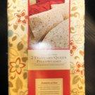 Better Homes & Garden 2 Standard/ Queen Floral Pillowcases 250 Thread Count #BH4