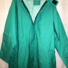 Rainfair Protective Clothing Green 100% Waterproof Coveralls 3XL #1803-8116