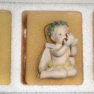 Hamilton Collection Ceramic Little Messenger Ornaments 1997  #68241