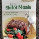 W.P.G Good Housekeeping Easy Skillet Meals 160 Page Cookbook 2005