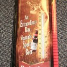 River's Edge Budweiser Nostalgic Tin Thermometer #1356