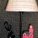 "Lefton's Holland Harbor 13"" Lighthouse Lamp #CCM12709"