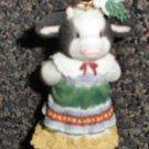 Enesco Mary's Moo Moos Moo-ey Kisses Figurine #480940