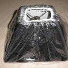 "Gustafuson Lighting Black Lamp Shade Size: 4""X5""X 8"" #MSGL104"