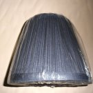 "Gustafuson Lighting Blue Pleated Lamp Shade Size: 4""X6""X 7"" #MSGL106"